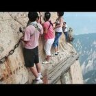 The World's Most Dangerous Path...Would You Hike It? You'd Have To Pay Me A Whole Lotta Money.