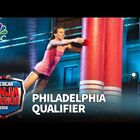 Warnky on American Ninja Warrior last night-