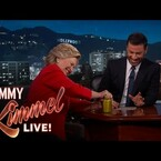 Hillary Clinton Proves She's Healthy On Kimmel