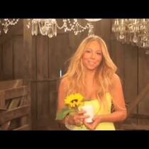 MARIAH CAREY VID: BEHIND THE SCENES!