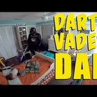 (VIDEO) Father Dresses Up as Darth Vader to Awaken His 2 Year Old Son
