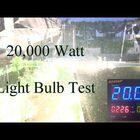 WATCH: Man Turns on 20,000 Watt Lightbulb