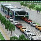 China's Elevated Bus: Good idea, or over the top?