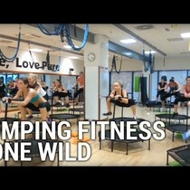 Jumping fitness gone wrong??...or totally right?!