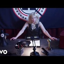 Courtney Love in the New Fall Out Boy Video
