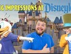Guy's EPIC Disney Impressions FREAKS OUT Disneyland Characters