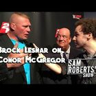 Hidden Gems (Video): Brock Lesnar Responds to Connor McGregor Challenge.  (Explicit Language)