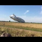 Largest Blimp In The World Crash Lands