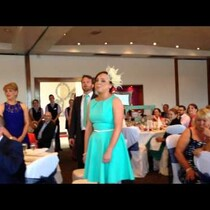 Wedding Guests Surprise Bride & Groom With
