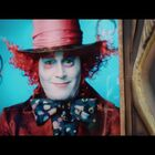Johnny Depp 'Mad Hatter' Billboard Comes Alive