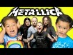 Kids React: Metallica
