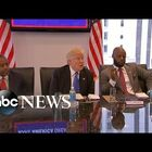 Trump reaches out to Blacks and Hispanics