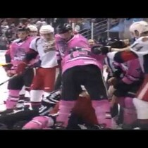 Griffins and Ice Hogs Face Off in MAJOR Fight!