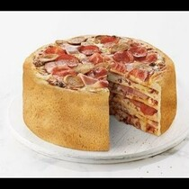 6-Layer Pizza Cake Anyone?