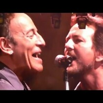 Eddie Vedder and Tom Morello join Springsteen for ACDC cover