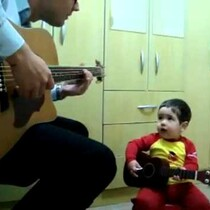 WATCH: This Guy's Kid Is Cooler Than Your Kid