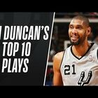 Top 10 Tim Duncan plays will hit you right in the feels