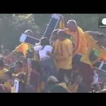 Procession turns to chaos in Philippines