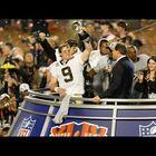 VIDEO:  Super Bowl XLIV Saints/Colts highlight video