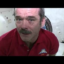 VIDEO: What Happens When You Cry In Outer Space?