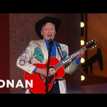 Conan slams Houston in Dallas Wikipedia Song