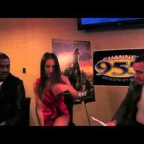 Mekhi Phifer & Maggie Q Interview (The Divergent)