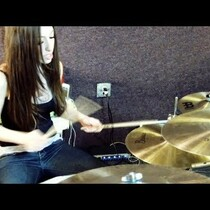 Meytal Cohen: You've Got To See This Girl Play Drums, Unbelievable!!