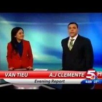 Anchor Fired for Cussing on Air