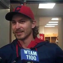 VIDEO: Josh Tomlin after his final spring outing