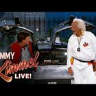 Marty McFly & Doc Brown Visit Jimmy Kimmel