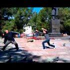 Russian pigeon fighting