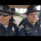 "Hilarious! State Troopers Lip Sync To ""Grease"""