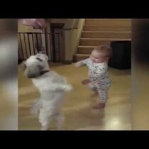 Baby Does Tricks For Treats Too!