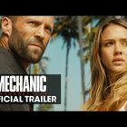 The Mechanic Resurrected Trailer With Jessica Alba and Jasos Statham.  Original Trailer Too.