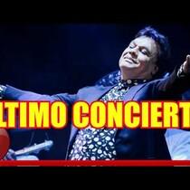 VIDEO.-Imgenes de el ultimo concierto de Juan Gabriel un día antes de Morir