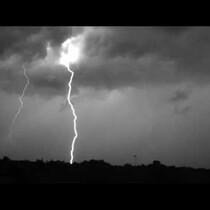 Lightning Storm In Slow Motion