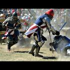 Full contact sword fighting