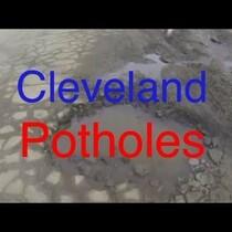 Cleveland Potholes W/ Hood Mounted GoPro