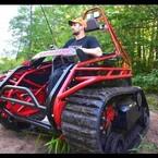 An Off-Road Wheelchair Tank!