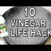 Who knew Vinegar could do all of this!