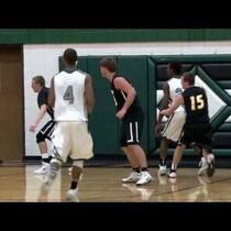 Watch: crazy shot in Iowa HS Basketball game last night
