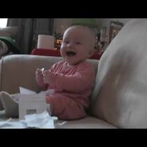 WATCH: Baby Laughing Hysterically at Ripping Paper