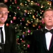 Bing Crosby and Michael Buble sing White Christmas Together!