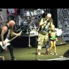 Little Girl Sings On Stage With Five Finger Death Punch