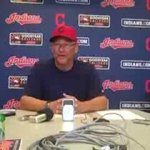 VIDEO: Terry Francona's daily media gathering