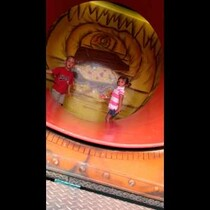 WATCH: 3 Year Old's Thrill Ride Experience