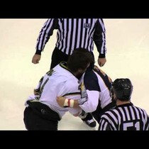 You'll NEVER guess how this B-R-U-T-A-L Hockey Fight Ends...
