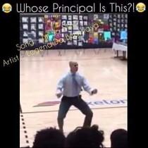 Principal Dances at School Rally & KILLS IT!