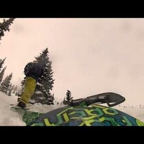 Snowmobiler Gets Hit By Avalanche-