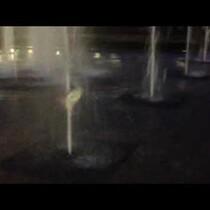 Fountain Frisbee